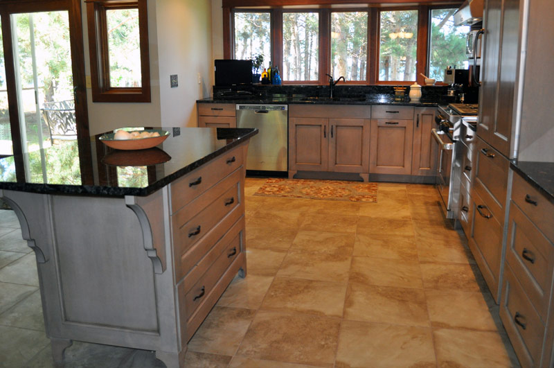 Karen R Larson Projects Residential Beach House Kitchen